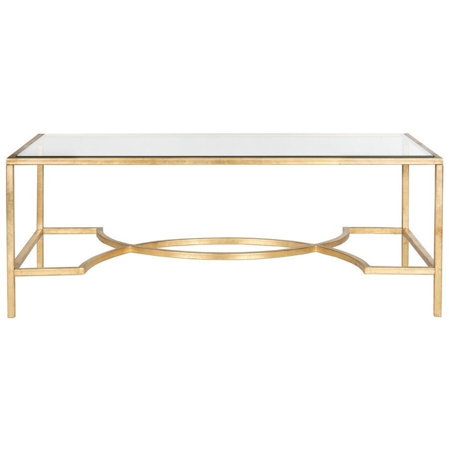 Safavieh Inga Clear Glass Coffee Table