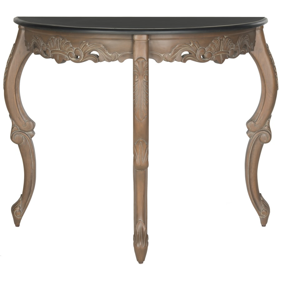 Safavieh Willand Black Mahogany Console Table