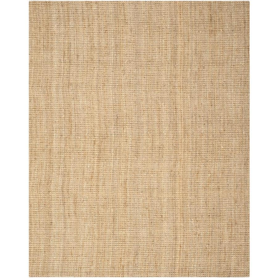 Safavieh Natural Fiber Antilles Natural Indoor Handcrafted Coastal Area Rug (Common: 10 x 14; Actual: 10-ft W x 14-ft L)