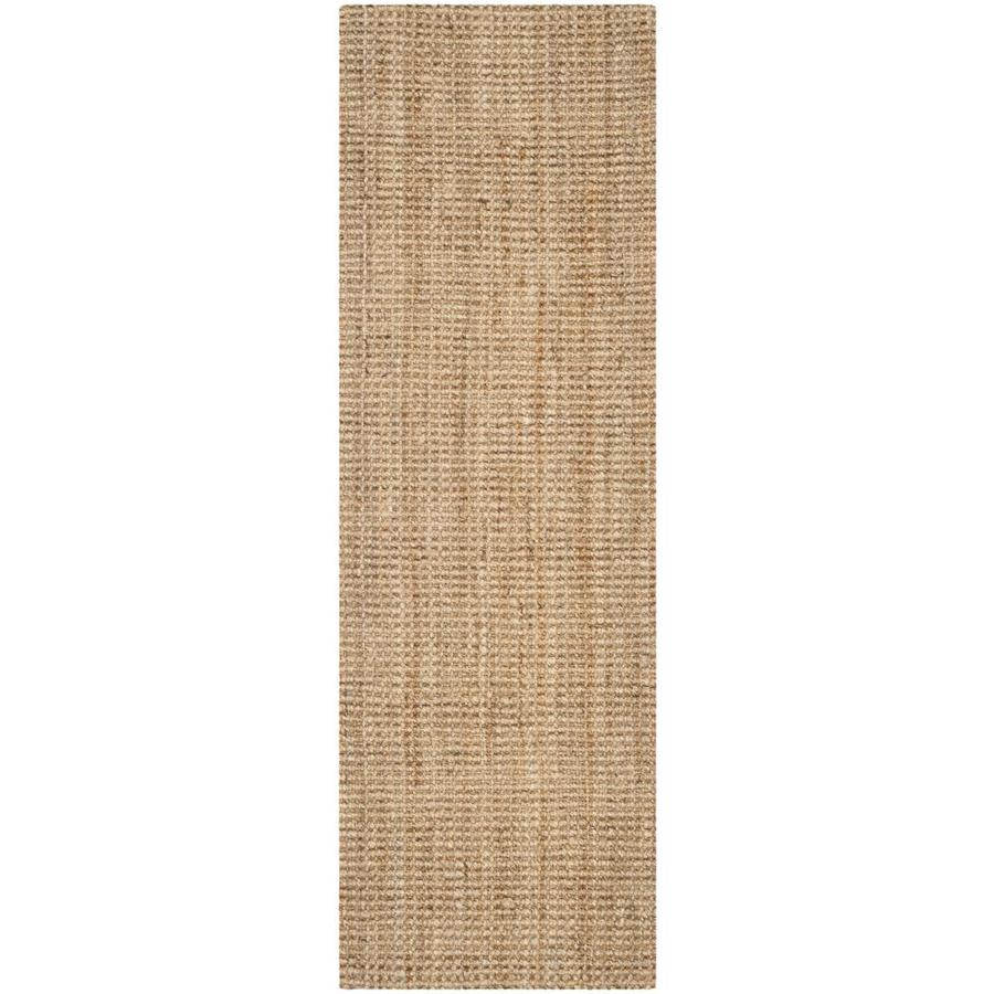 Safavieh Natural Fiber Antilles Natural Indoor Handcrafted Coastal Runner (Common: 2 x 19; Actual: 2.25-ft W x 19-ft L)