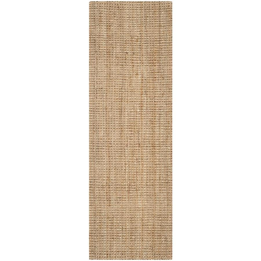 Safavieh Natural Fiber Antilles Natural Indoor Handcrafted Coastal Runner (Common: 2 x 15; Actual: 2.25-ft W x 15-ft L)
