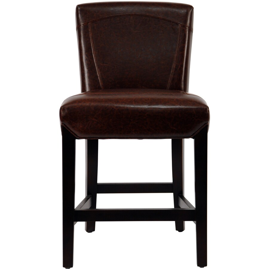 Shop Safavieh Hudson Collection Brown 24 In Counter Stool