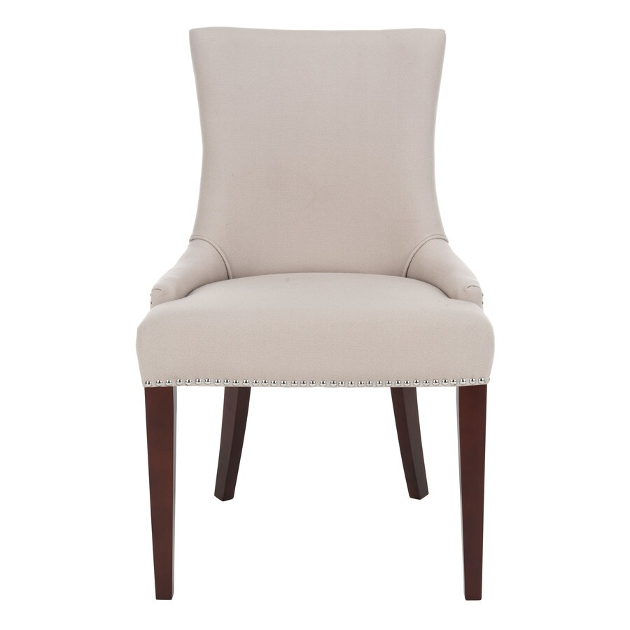 Safavieh Mercer Beige Side Chair