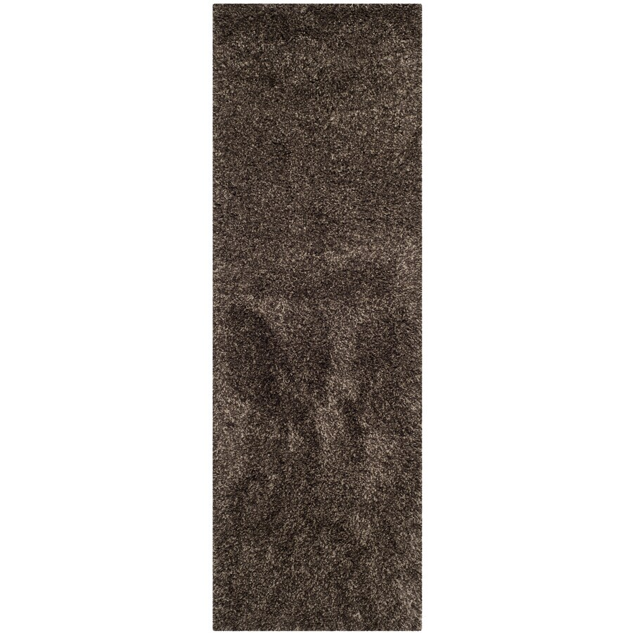 Safavieh California Shag Mushroom Rectangular Indoor Machine-made Throw Rug (Common: 2 x 5; Actual: 2.25-ft W x 5-ft L)