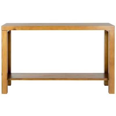 Peachy Safavieh American Home Light Oak Pine Rectangular Console Gmtry Best Dining Table And Chair Ideas Images Gmtryco