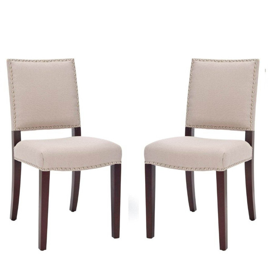 Safavieh Set of 2 Mercer Cream Accent Chairs
