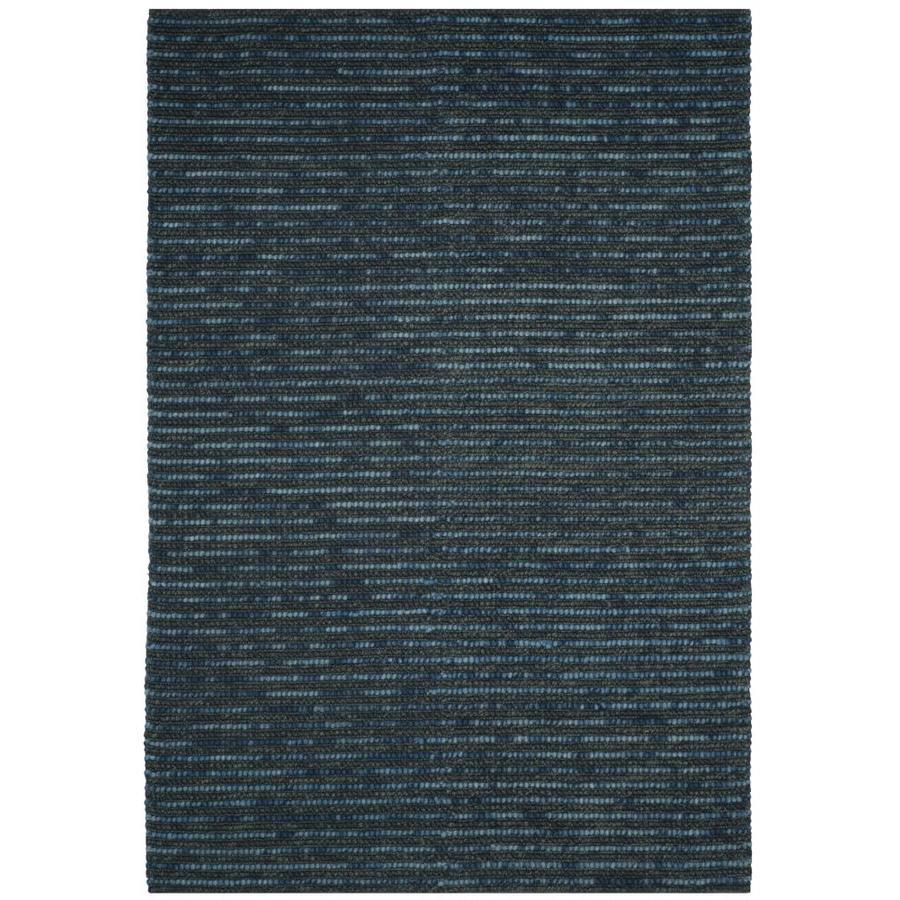Safavieh Bohemian Dark Blue/Multi Rectangular Indoor Handcrafted Lodge Area Rug (Common: 4 x 6; Actual: 4-ft W x 6-ft L)