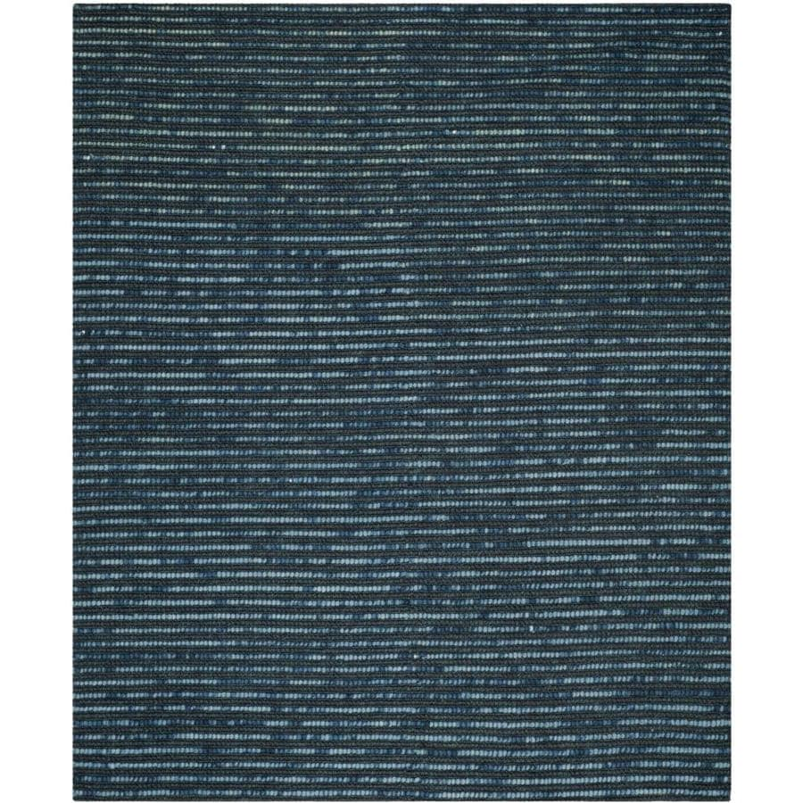 Safavieh Bohemian Lina Dark Blue Indoor Handcrafted Lodge Area Rug Common 8 X 10