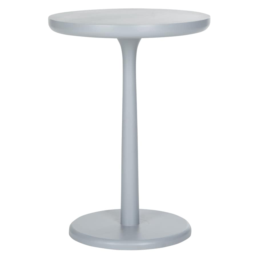 Safavieh American Home Pearl Blue Gray Round End Table