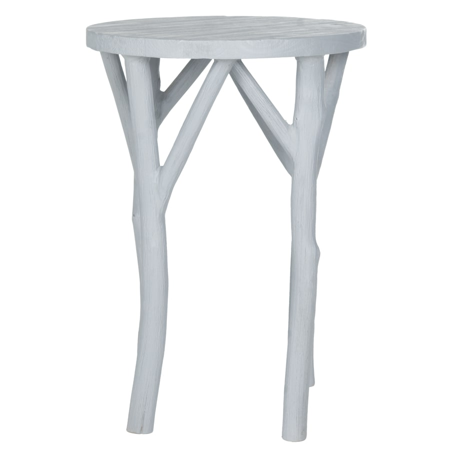 Safavieh Harper Pearl Blue Gray End Table