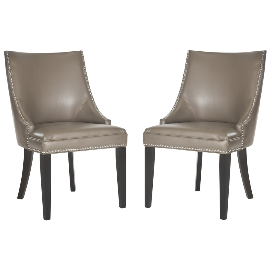 Safavieh Set of 2 Mercer Clay Side Chairs