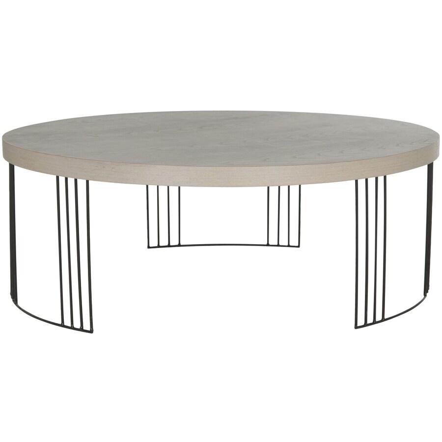 Safavieh Keelin Gray Round Coffee Table