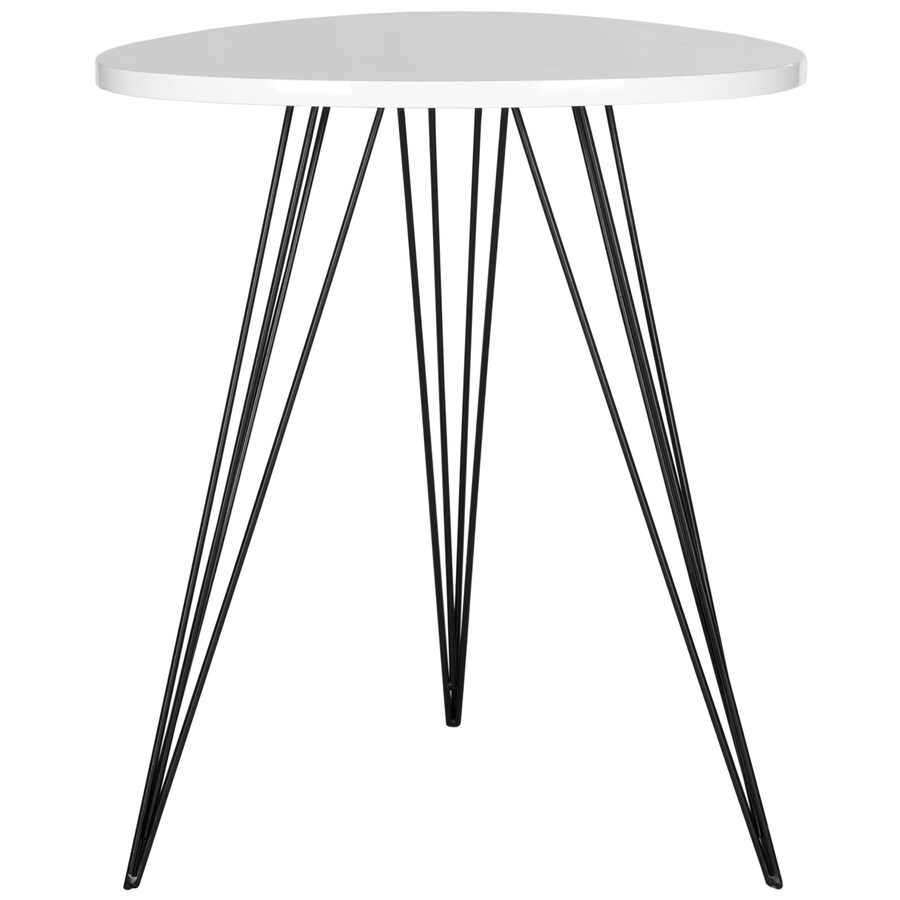 Safavieh Wolcott White/Black End Table