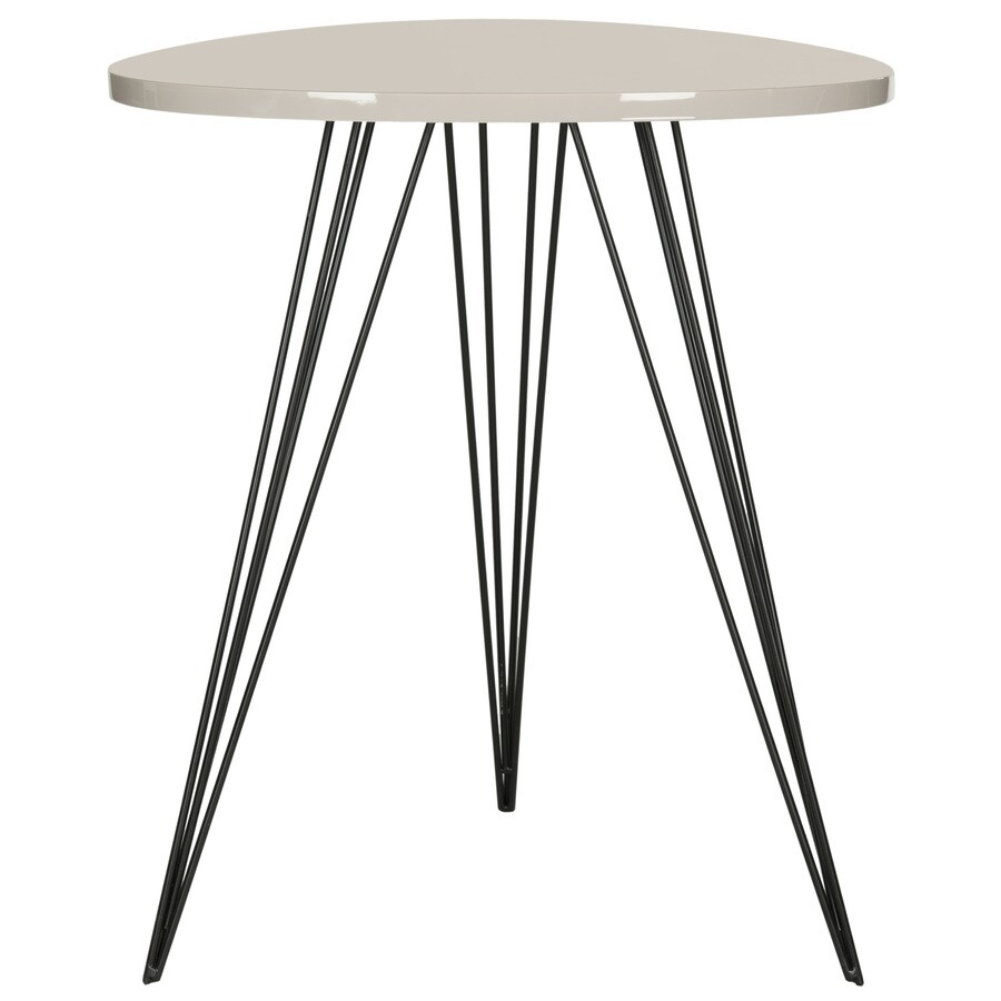 Safavieh Wolcott Taupe/Black End Table