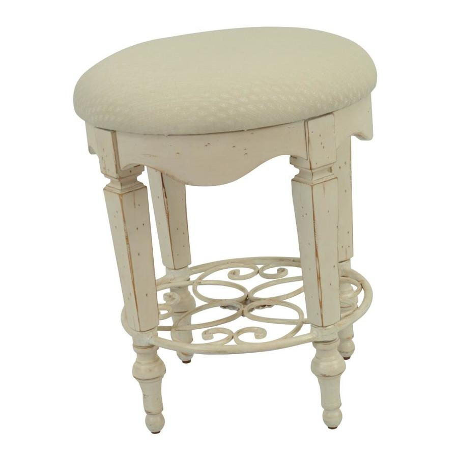 Safavieh American Home White 19-in Small Stool