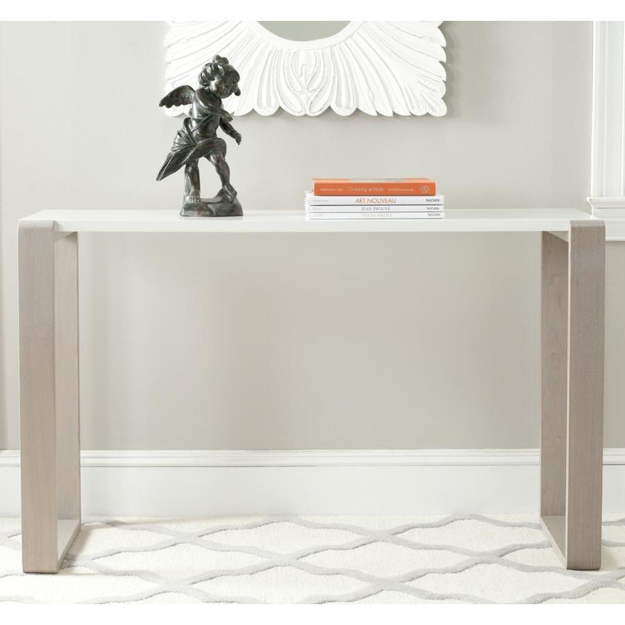 Safavieh Bartholomew White Console Table