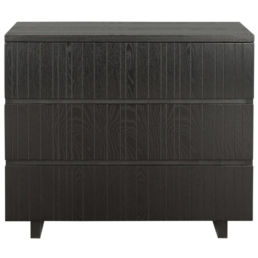 Safavieh Jorge Black Rectangular End Table