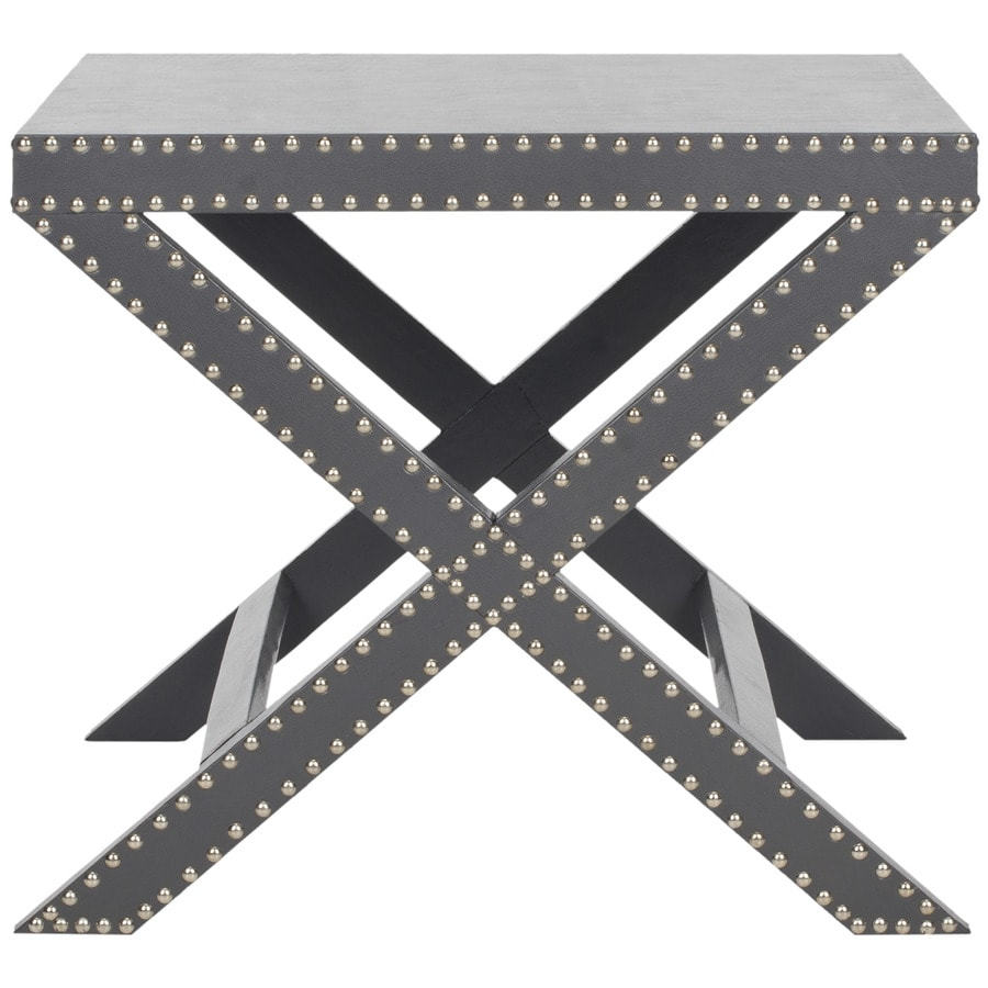Safavieh Fox Gray Rectangular End Table