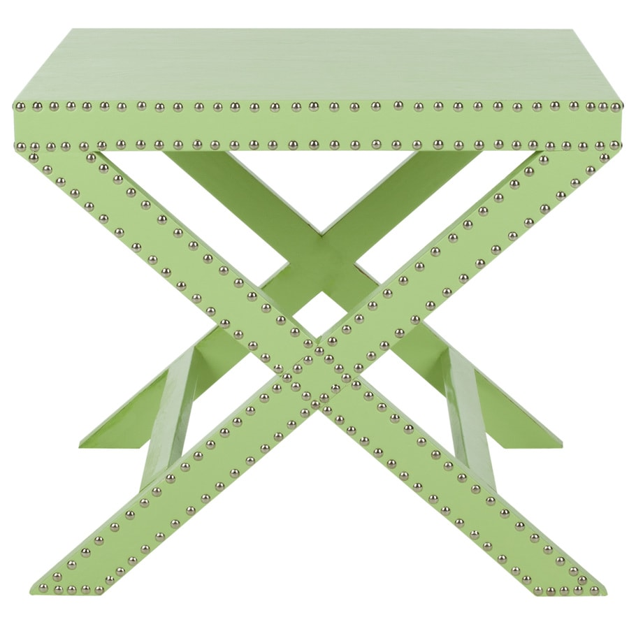 Safavieh Fox Light Green Rectangular End Table