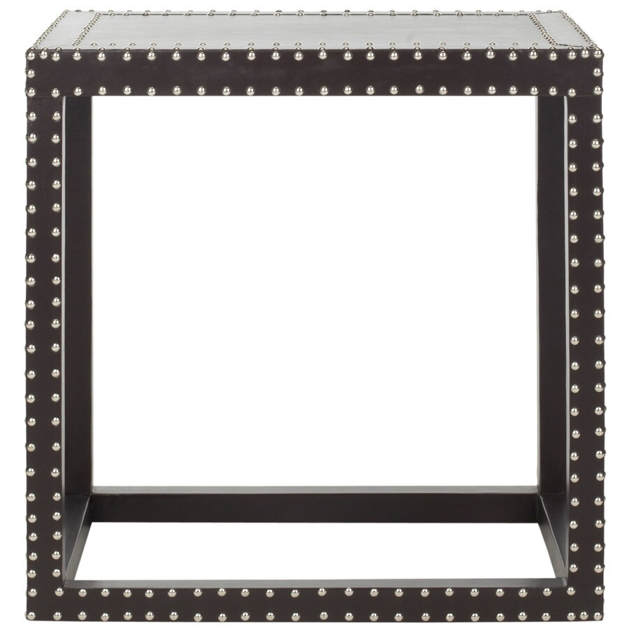 Safavieh Fox Charcoal Rectangular End Table