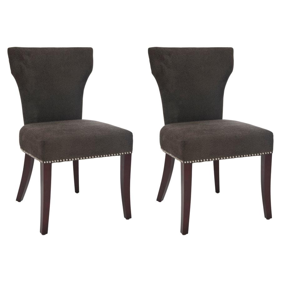 Safavieh Set of 2 Mercer Bark Side Chairs