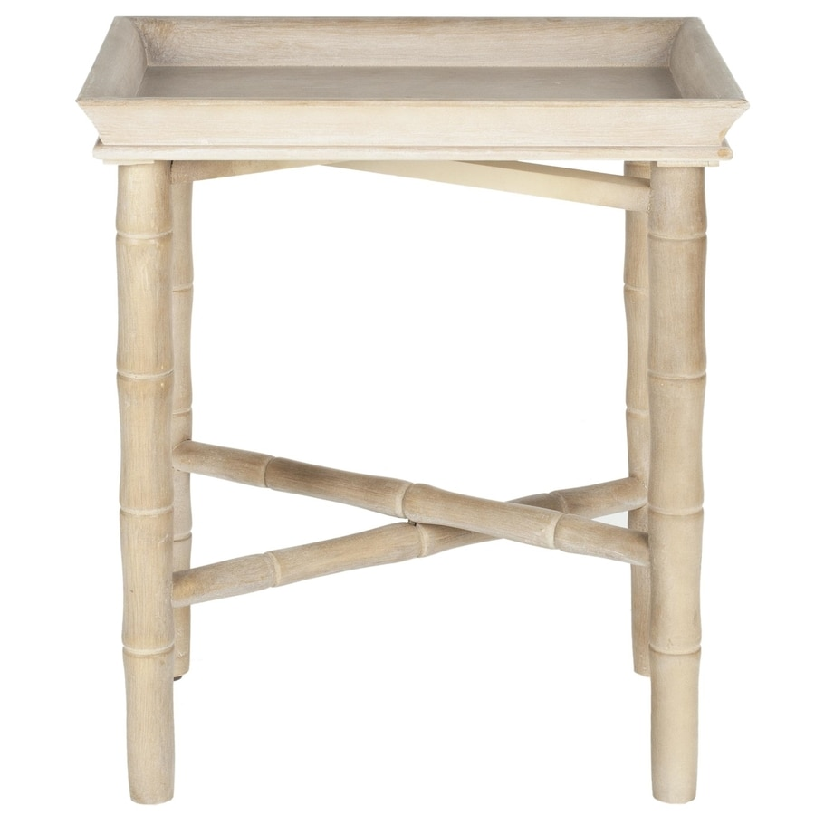 Safavieh American Home Natural Fir Rectangular End Table