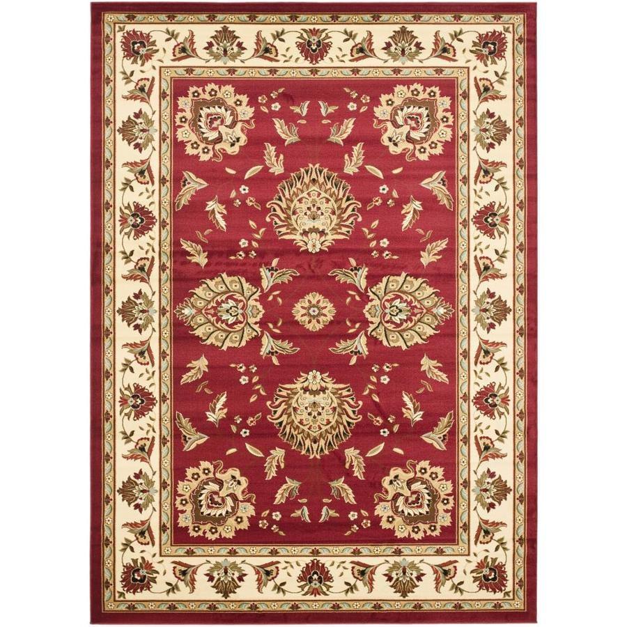 Safavieh Lyndhurst Sultanabad Red Ivory Indoor Oriental Area Rug Common 7 X 10