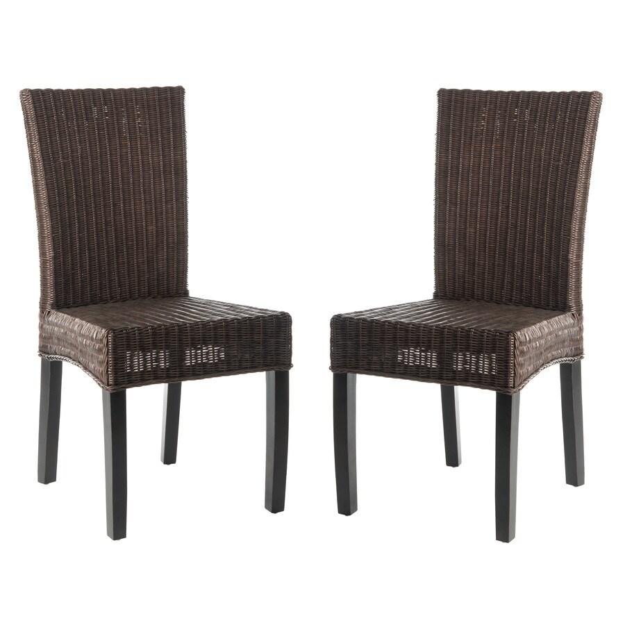 Safavieh Set of 2 Siesta Side Chairs