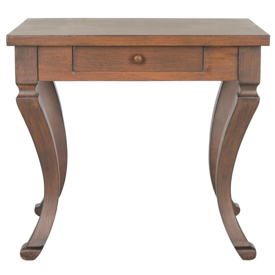 Safavieh Colman Brown Fir End Table