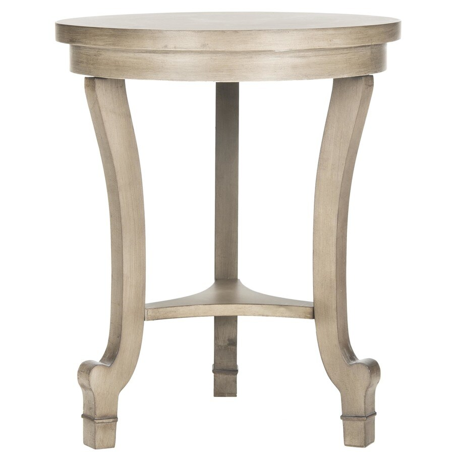 Safavieh Monty Saddle Brown Fir End Table