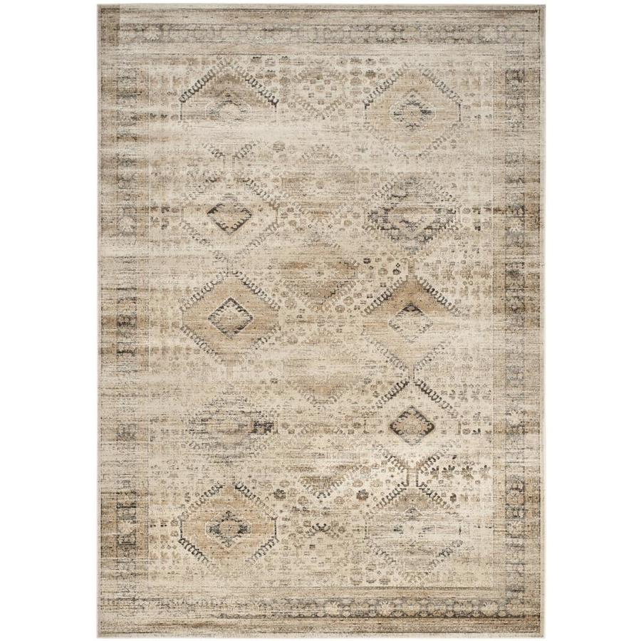 Safavieh Vintage Stone Rectangular Indoor Machine-Made Distressed Area Rug (Common: 8 X 11; Actual: 8-ft W x 11.167-ft L)