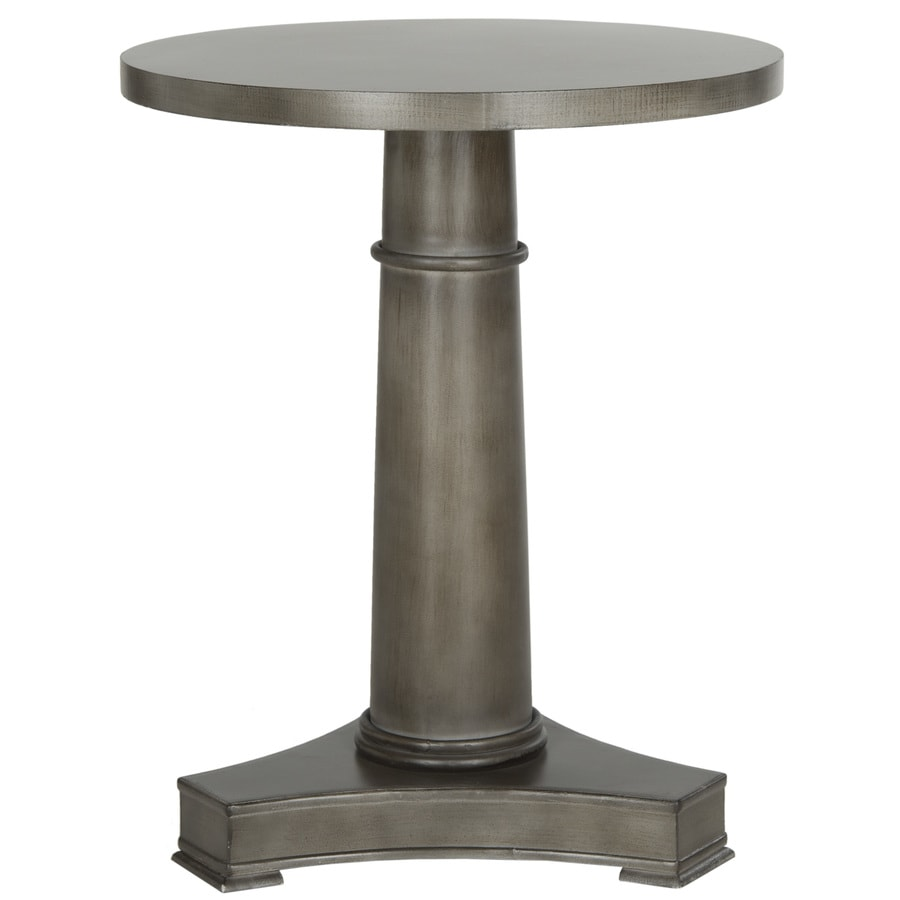 Safavieh American Home Grey Fir Round End Table