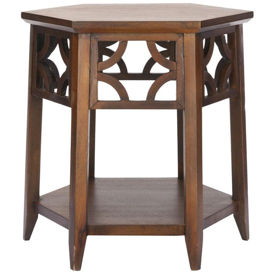 Safavieh Matthew Brown End Table