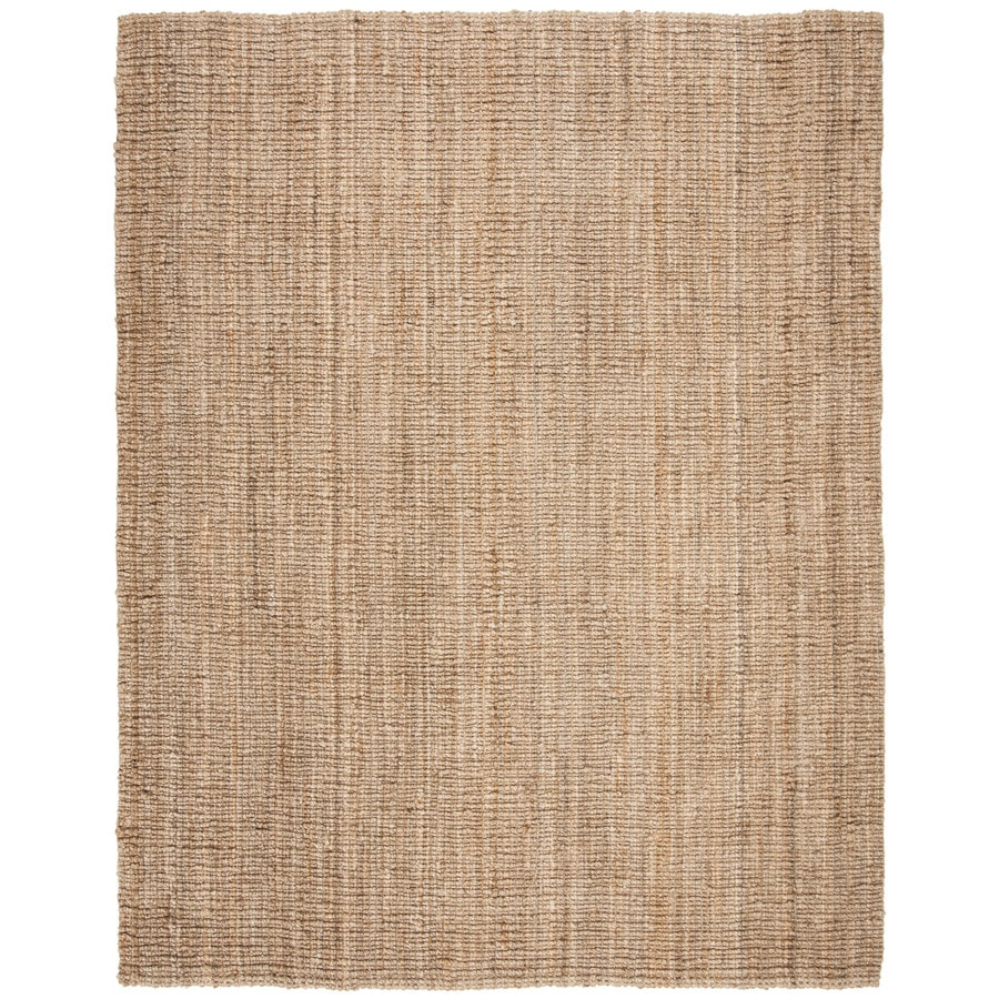 Safavieh Natural Fiber Bellport Natural Rectangular Indoor Handcrafted Coastal Area Rug (Common: 10 x 14; Actual: 10-ft W x 14-ft L)