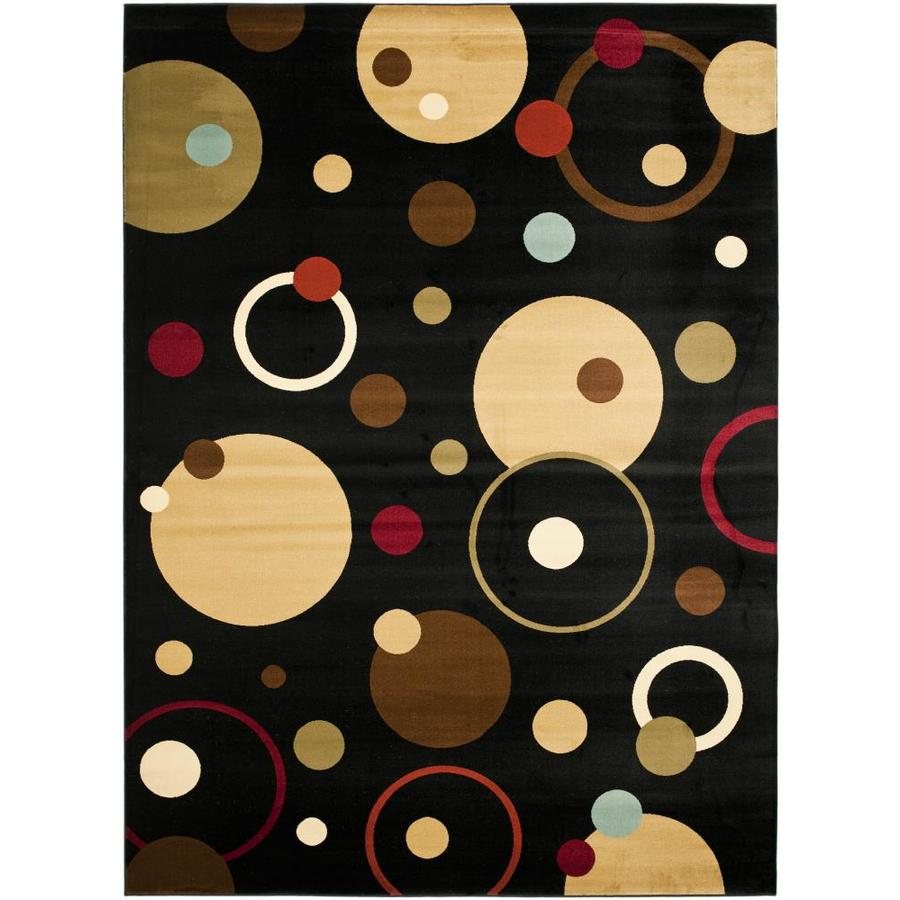 Safavieh Porcello Whimsy Black Indoor Area Rug (Common: 8 x 11; Actual: 8-ft W x 11.2-ft L)