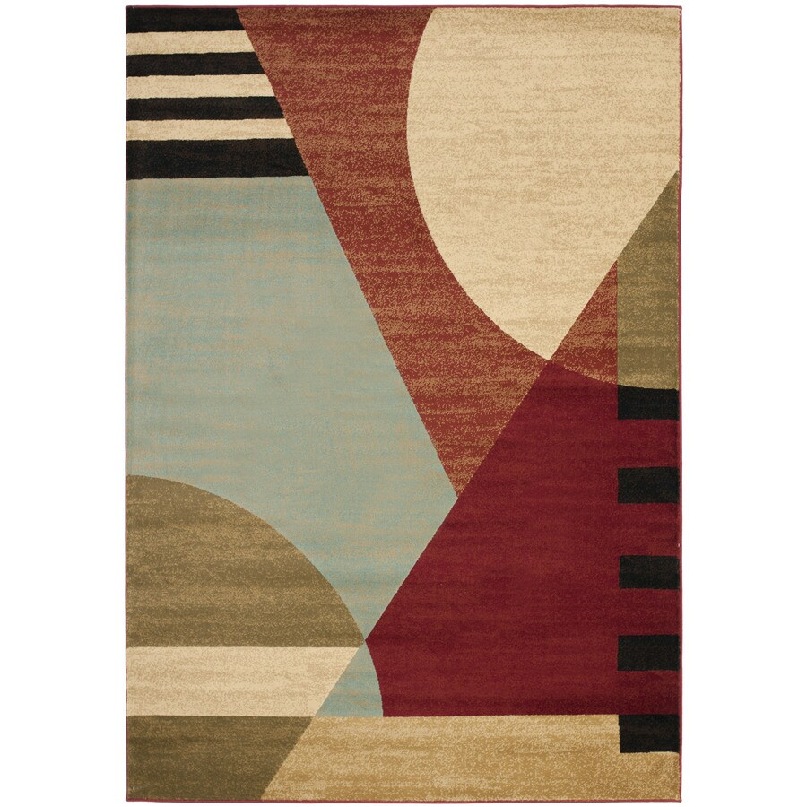 Safavieh Porcello Wright Indoor Area Rug (Common: 4 x 6; Actual: 4-ft W x 5.6-ft L)