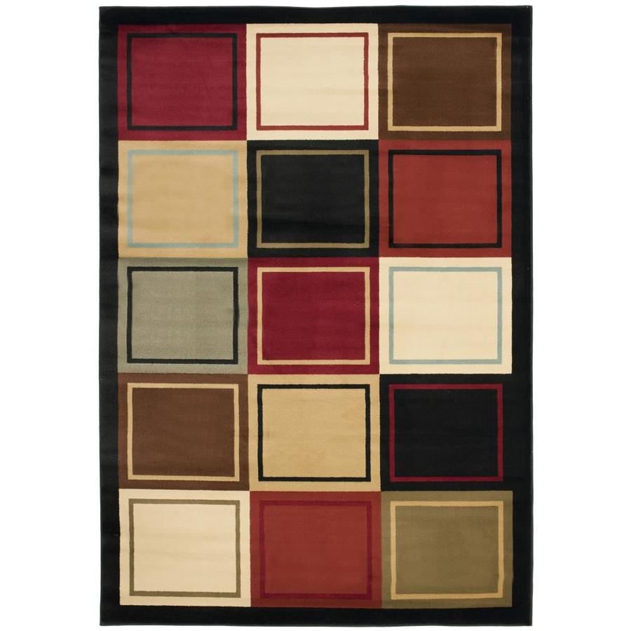 Safavieh Porcello Mia Multi Rectangular Indoor Machine-made Area Rug (Common: 5 x 7; Actual: 5.25-ft W x 7.583-ft L)