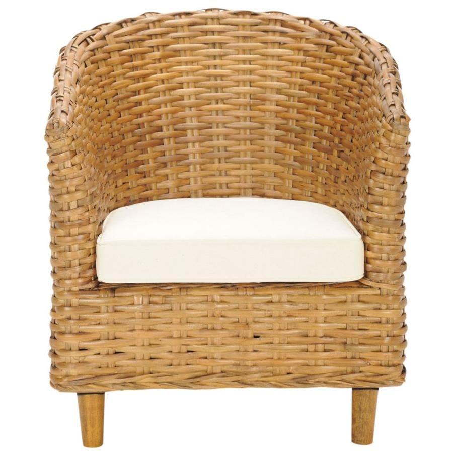 Safavieh Omni Coastal Honey Accent Chair