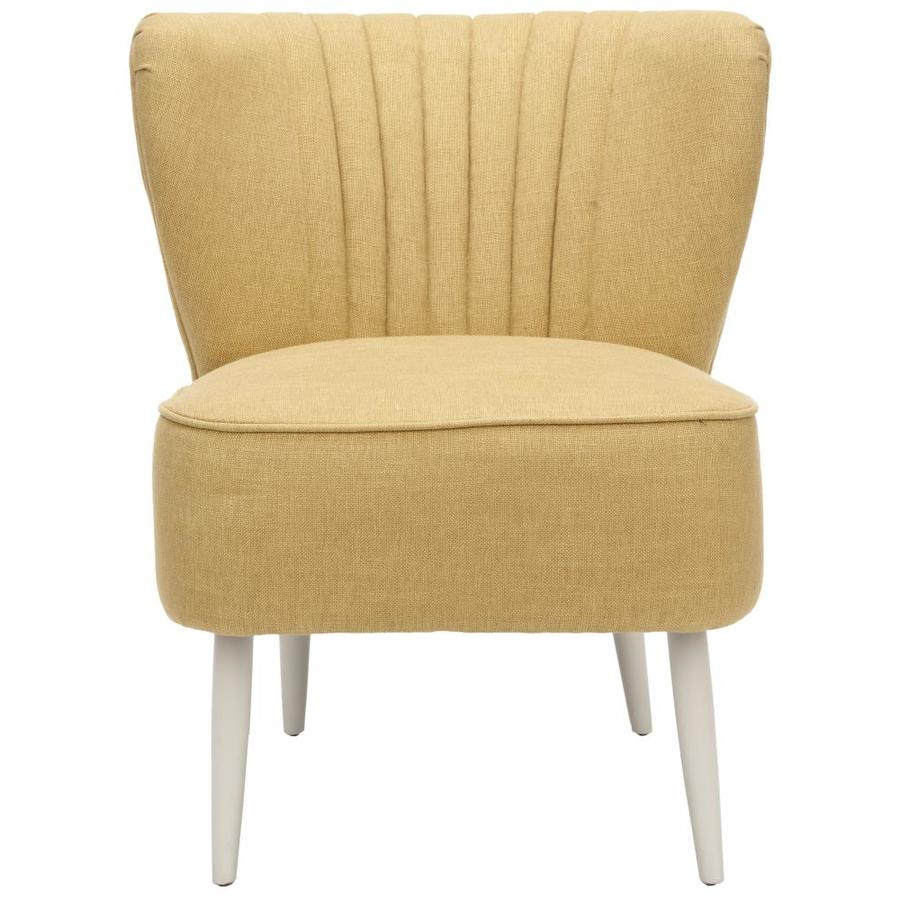 Safavieh Morgan Midcentury Gold Accent Chair