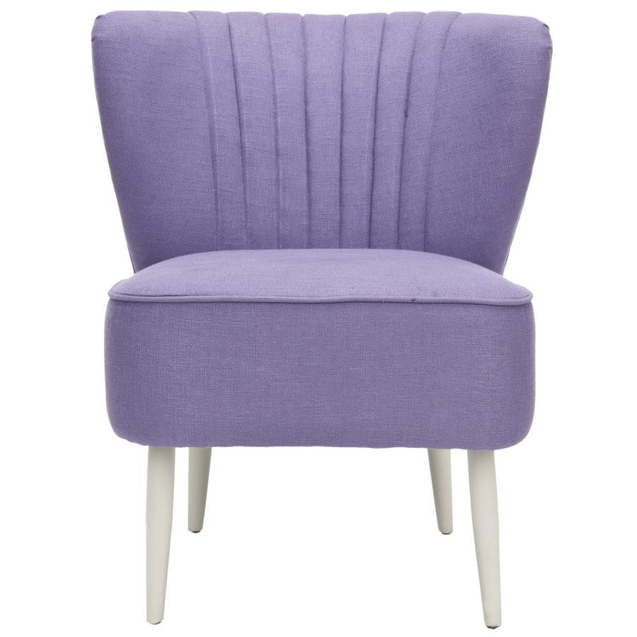 Safavieh Mercer Purple Accent Chair