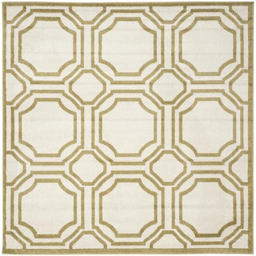 Safavieh Amherst Mosaic 7 X 7 Ivory/Light Green Square