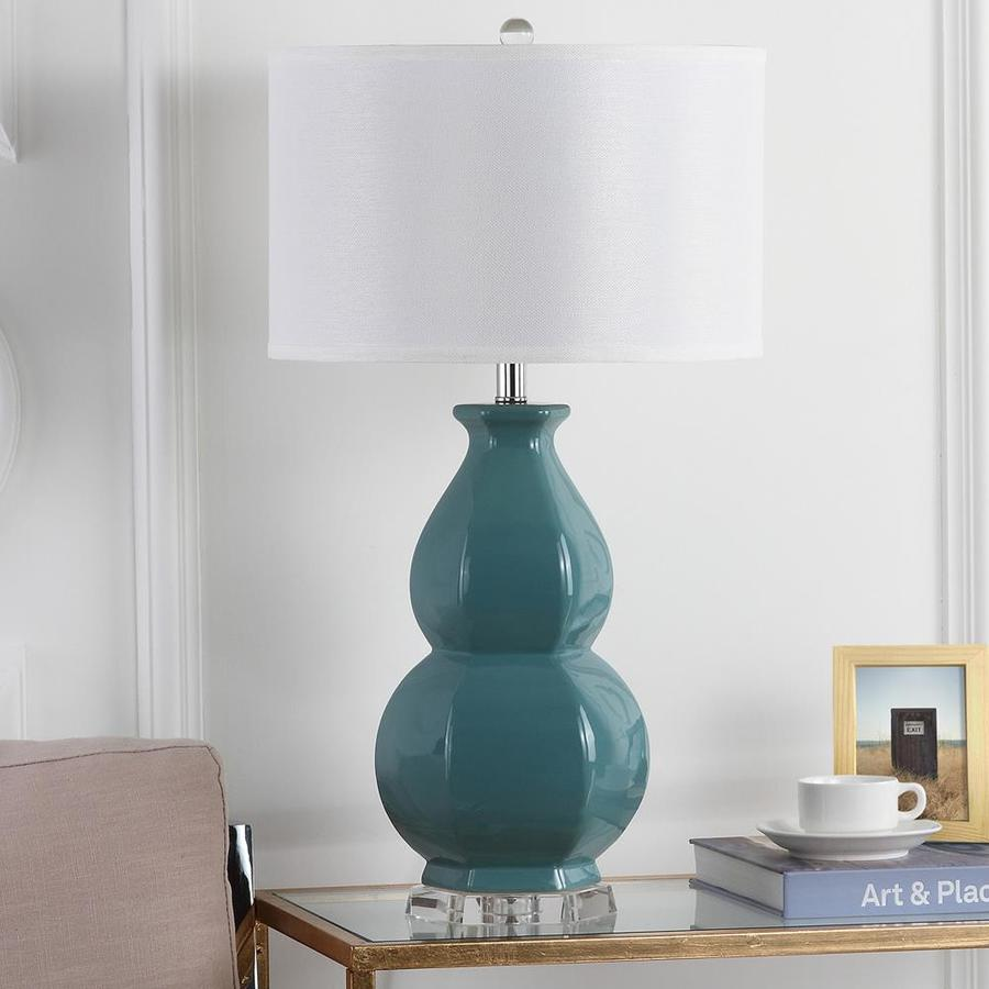 Lowes Table Lamps: Safavieh Juniper Table Lamp (Egg Blue) At Lowes.com