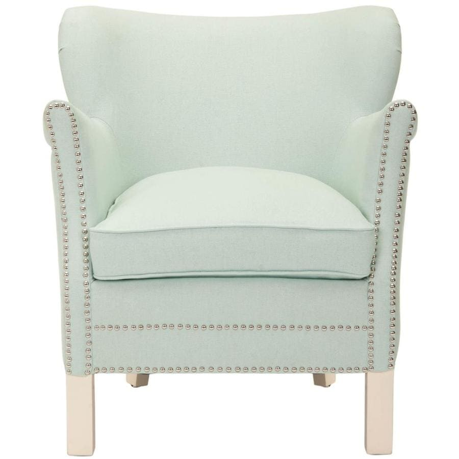 Safavieh Jenny Casual Robins Egg Blue Linen Accent Chair