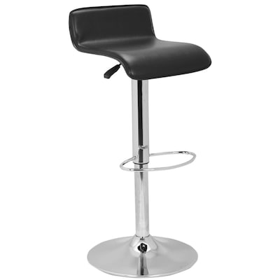 Stupendous Safavieh Aubrey Black Adjustable Stool At Lowes Com Short Links Chair Design For Home Short Linksinfo