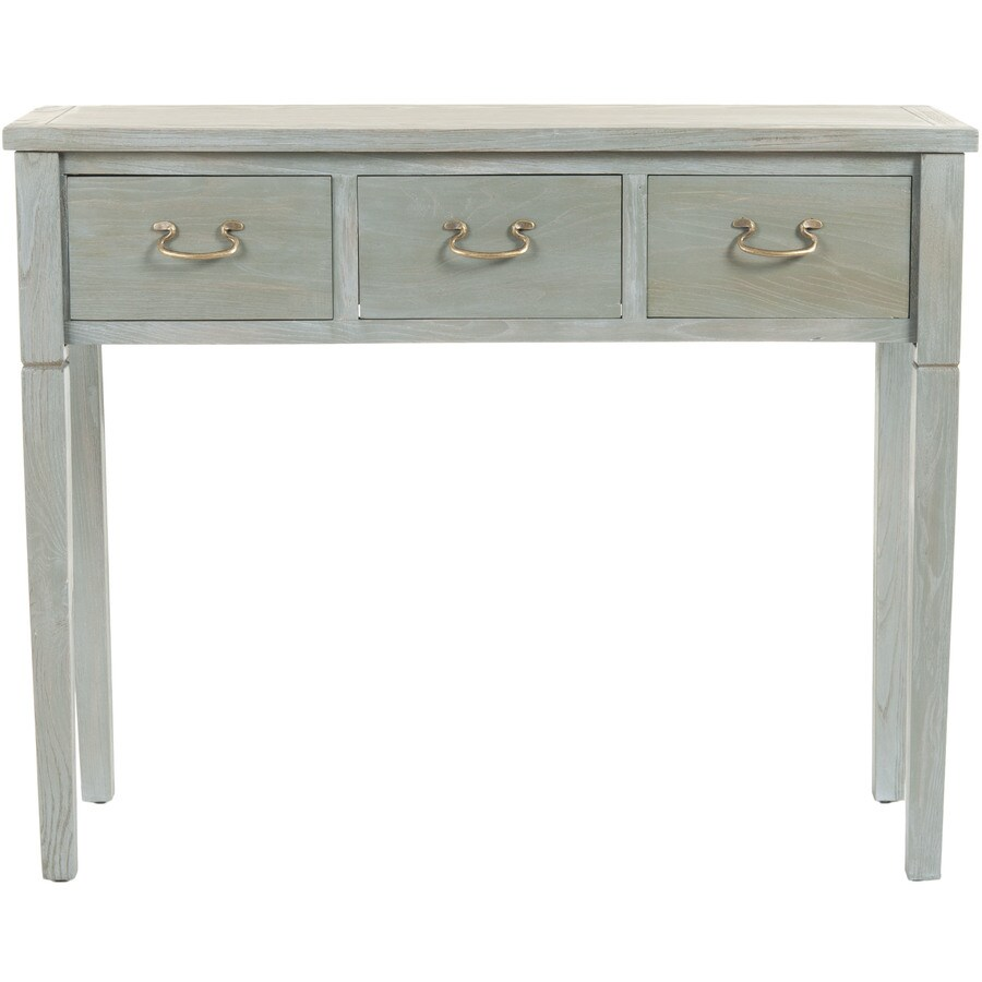 Safavieh American Home White Maple Rectangular Console and Sofa Table