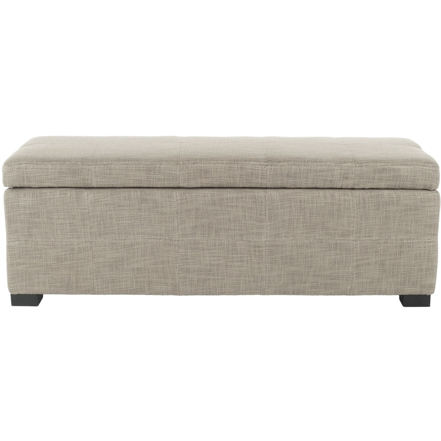 Safavieh Madison Large Transitional Gray Storage Bench