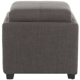 Terrific Bronze Square Indoor Ottomans At Lowes Com Theyellowbook Wood Chair Design Ideas Theyellowbookinfo