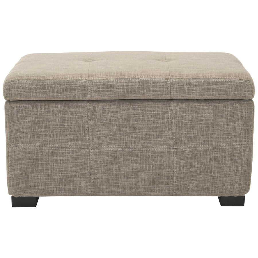 Safavieh Maiden Small Transitional Gray Storage Bench