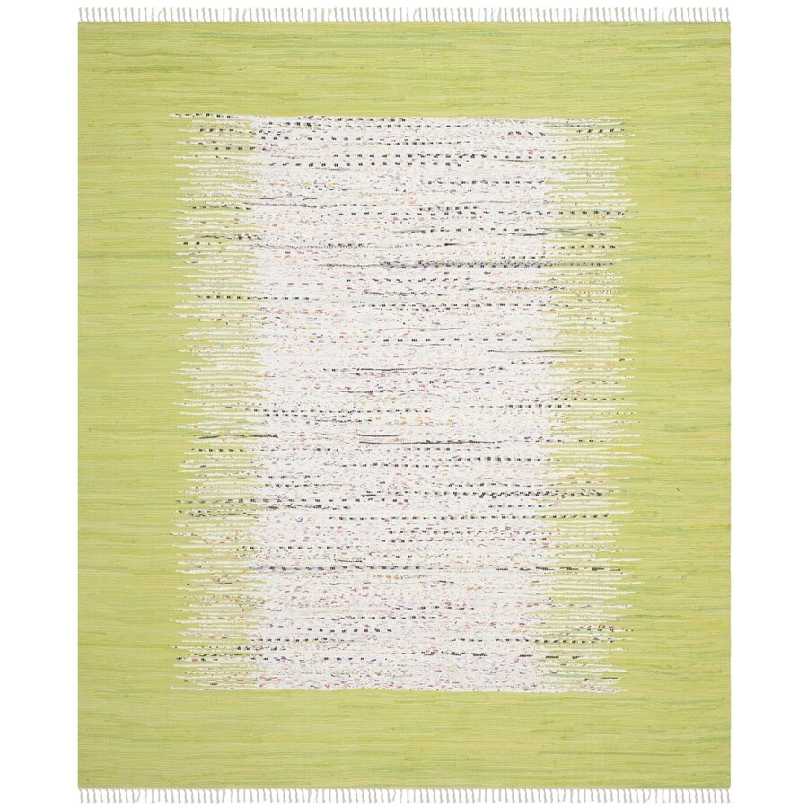 Safavieh Montauk Keeling 9 X 12 Ivory Citron Indoor Border Coastal Handcrafted Area Rug In The Rugs Department At Lowes Com
