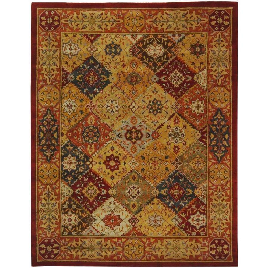 Safavieh Heritage Lavar Multi Rectangular Indoor Handcrafted Oriental Area Rug (Common: 12 x 18; Actual: 12-ft W x 18-ft L)